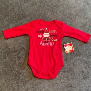 0-3 month who needs Santa onesie